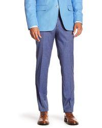BOSS - Bevan Virgin Wool Trousers - Lyst