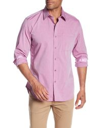 Robert Graham - Groves Woven Tailored Fit Shirt - Lyst