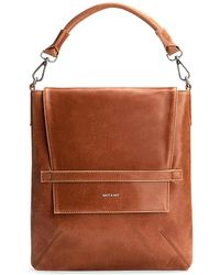 Matt & Nat - Riley Vegan Leather Hobo Bag - Lyst