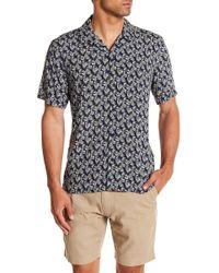 Tocco Toscano - Short Sleeve Print Woven Shirt - Lyst