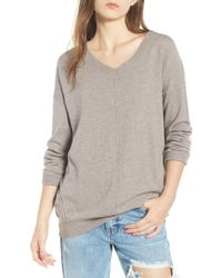 Dreamers By Debut Exposed Seam Sweater