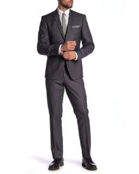 Perry Ellis - David Slim Fit Suit - Lyst