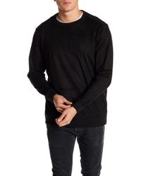 Cohesive & Co. - Portis Faux Suede Pullover - Lyst