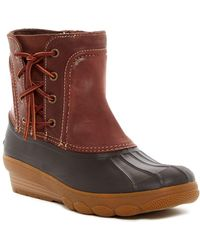 Sperry Top-Sider - Saltwater Wedge Spray Waterproof Boot - Lyst