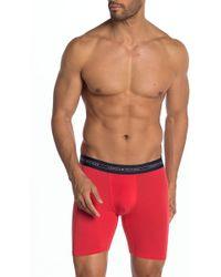 9b504039bd21 Tommy Hilfiger Cotton Boxer Brief 4-pack in Orange for Men - Lyst