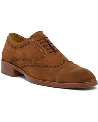 Donald J Pliner - Zindel Slip-on Suede Oxford - Lyst