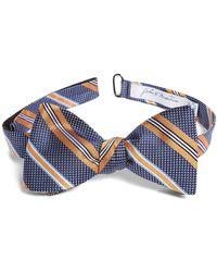 John W. Nordstrom - John W. Nordstrom Dotted Stripe Silk Bow Tie - Lyst