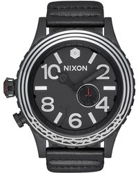 Nixon Men's 51-30 Star Wars Kylo Ren Leather Strap Watch, 51mm