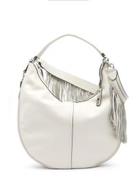 Vince Camuto - Hil Leather Hobo Bag - Lyst