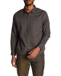Vince - Garment Washed Shirt - Lyst