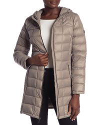MICHAEL Michael Kors - Zip Quilted Puffer Jacket - Lyst