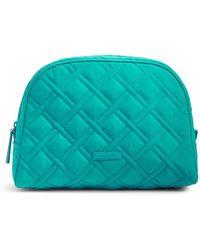Vera Bradley - Large Zip Cosmetic Bag - Lyst
