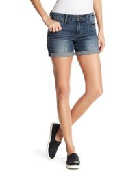 Lucky Brand - The Roll Up Jean Shorts - Lyst