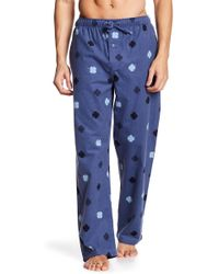 Lucky Brand - Patterned Flannal Pajama Pant - Lyst