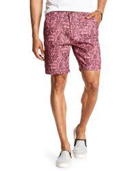 Benson - Printed Woven Shorts - Lyst