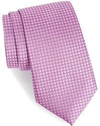 Calibrate - Jallot Check Silk Tie - Lyst
