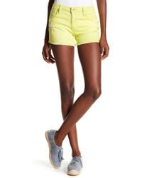 Tractr - Frayed Hem Basic Shorts - Lyst