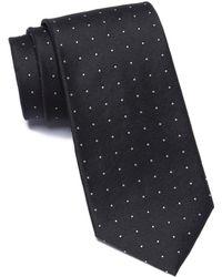 Calvin Klein - Occasion Dot Silk Tie - Lyst
