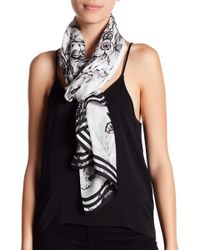 Vince Camuto - Toile Floral Silk Scarf - Lyst