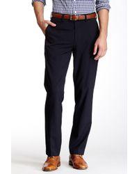 """Louis Raphael - Solid Herringbone Modern Fit Pant - 30-34"""" Inseam - Lyst"""