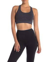 Fila - Running With Roses Seamless Sports Bra - Lyst