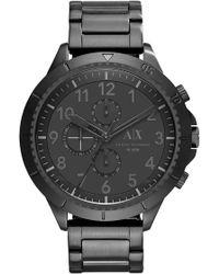 Armani Exchange - Men's Romulous Bracelet Watch - Lyst