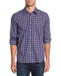 Jeremy Argyle Nyc - Slim Fit Plaid Sport Shirt - Lyst