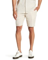Tocco Toscano - Gingham Checkered Print Shorts - Lyst