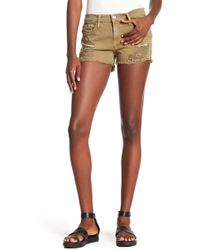Etienne Marcel - Distressed Shorts - Lyst
