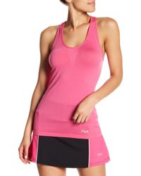 Fila - Sublime Seamless Singlet Tank Top - Lyst