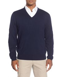 Brooks Brothers - 'saxxon' V-neck Sweater - Lyst