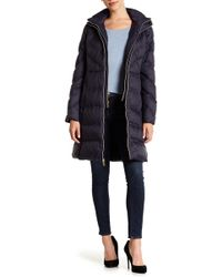 MICHAEL Michael Kors - Missy Puff Double Front Zip Jacket - Lyst