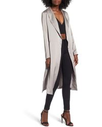 4si3nna - Satin Duster Jacket - Lyst