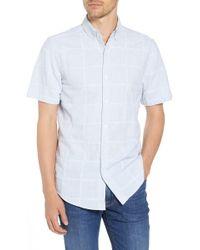 Vineyard Vines - Stripe Patchwork Slim Fit Sport Shirt - Lyst