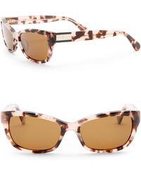Kate Spade - Marilee 53mm Rectangle Sunglasses - Lyst
