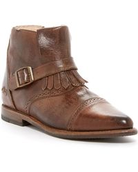 Bed Stu - Dipper Leather Bootie - Lyst