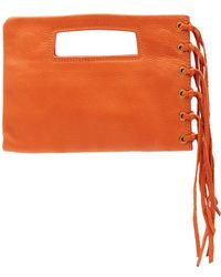 Hobo - Sunny Leather Clutch - Lyst
