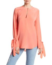Equipment - Sayer Silk Blouse - Lyst