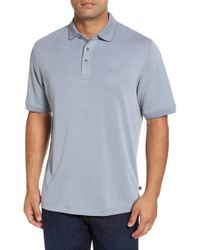 Tommy Bahama - Little Zig Zag Short Sleeve Polo - Lyst