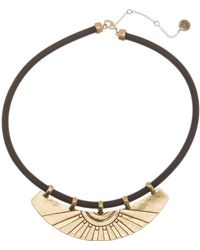 The Sak - Etched Bib Collar Necklace - Lyst