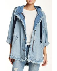 Pistola - Riley Denim Anorak - Lyst