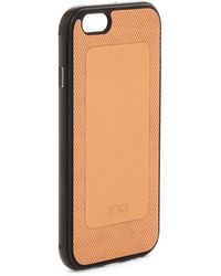 Tumi - Leather Iphone 6s Case With Metal Bumper - Lyst