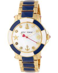 Betsey Johnson | Women's Ship Shape Bracelet Watch | Lyst