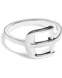 Shinola - Sterling Silver Buckle Ring - Lyst