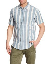 Ezekiel - Parker Striped Regular Fit Shirt - Lyst