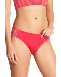 Nike - Side Inset Bikini Bottoms - Lyst
