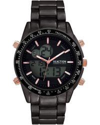 Kenneth Cole Reaction - Men's Ana-digit Bracelet Watch, 46.5mm - Lyst