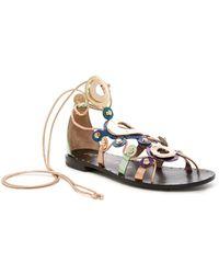 Ivy Kirzhner - Odessa Lace-up Sandal - Lyst