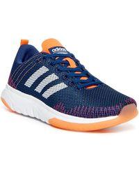 lyst adidas cloudfoam super flex atletico scarpe da ginnastica in blu per gli uomini.