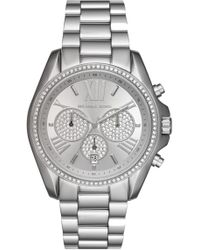Michael Kors - Women's Bradshaw Crystal Pave Chronograph Bracelet Watch, 43mm - Lyst